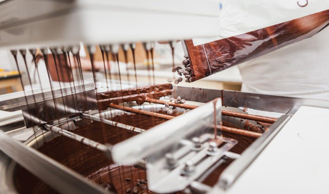 Výroba pralinek