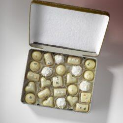 Svatební pralinky v krabičce