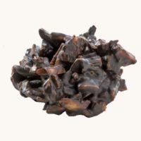 Pražené mandle v hořké čokoládě
