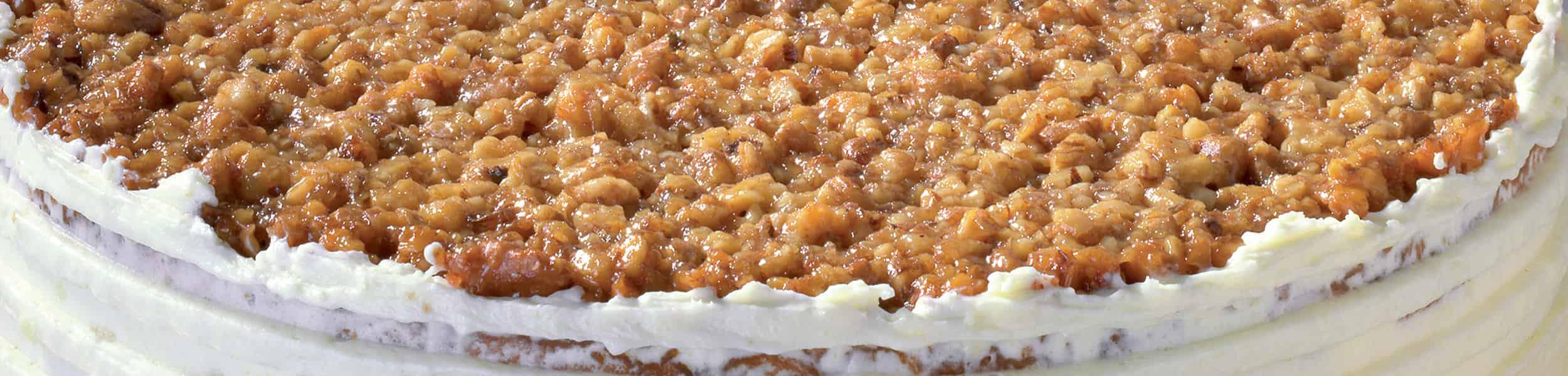 Ořechovo-medový dort hlavicka