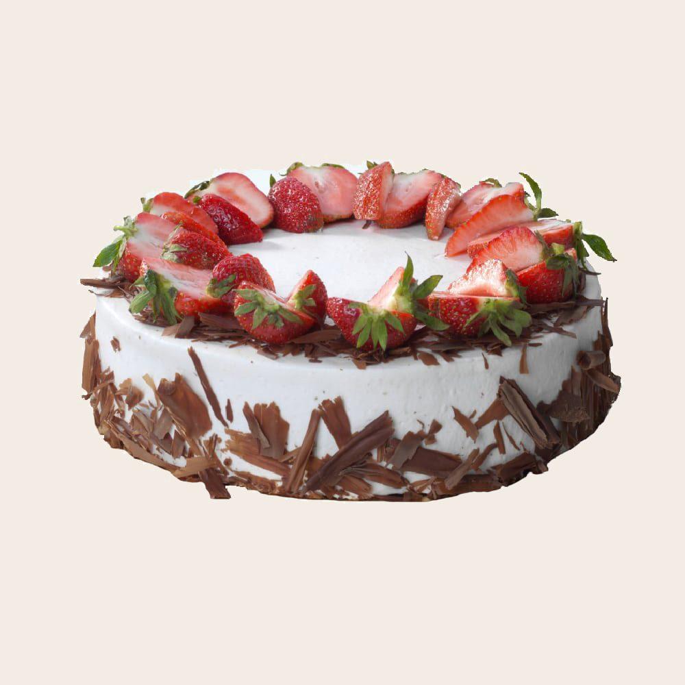 Ovocný dort tmavé pozadí