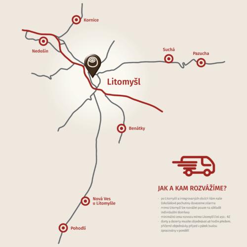 Mapa Chocco Caffe