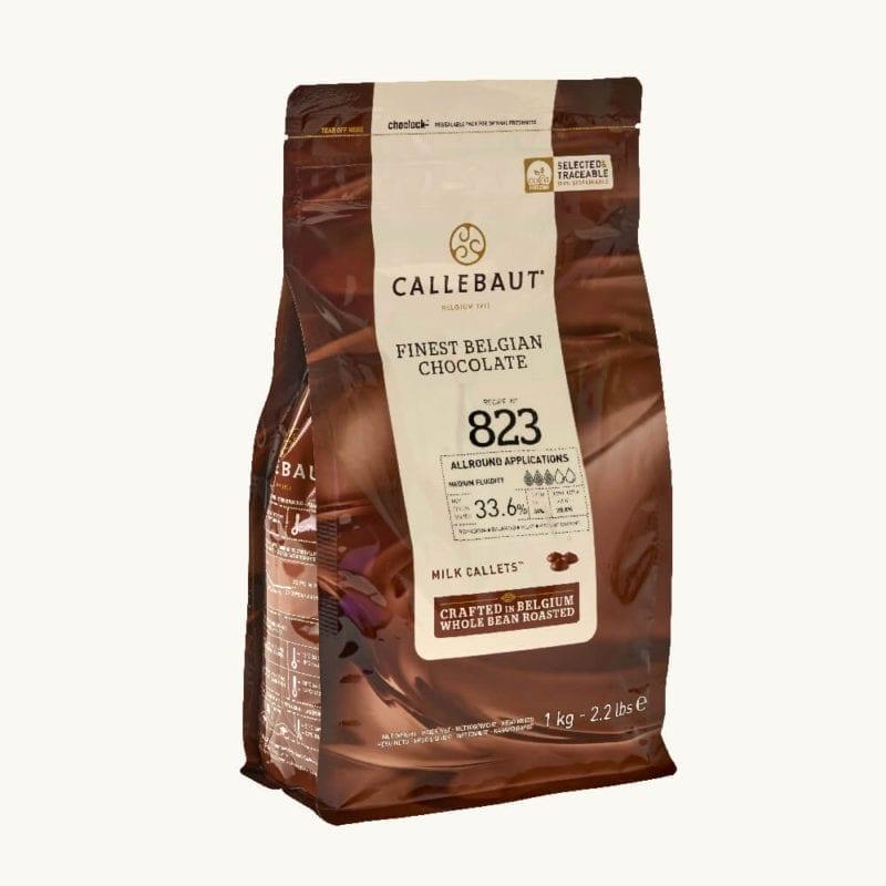 Pravá belgická mléčná čokoláda 1 kg