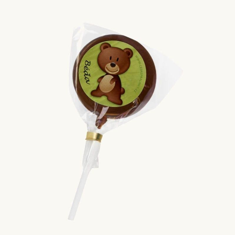 Čokoládové lízátko Béďa