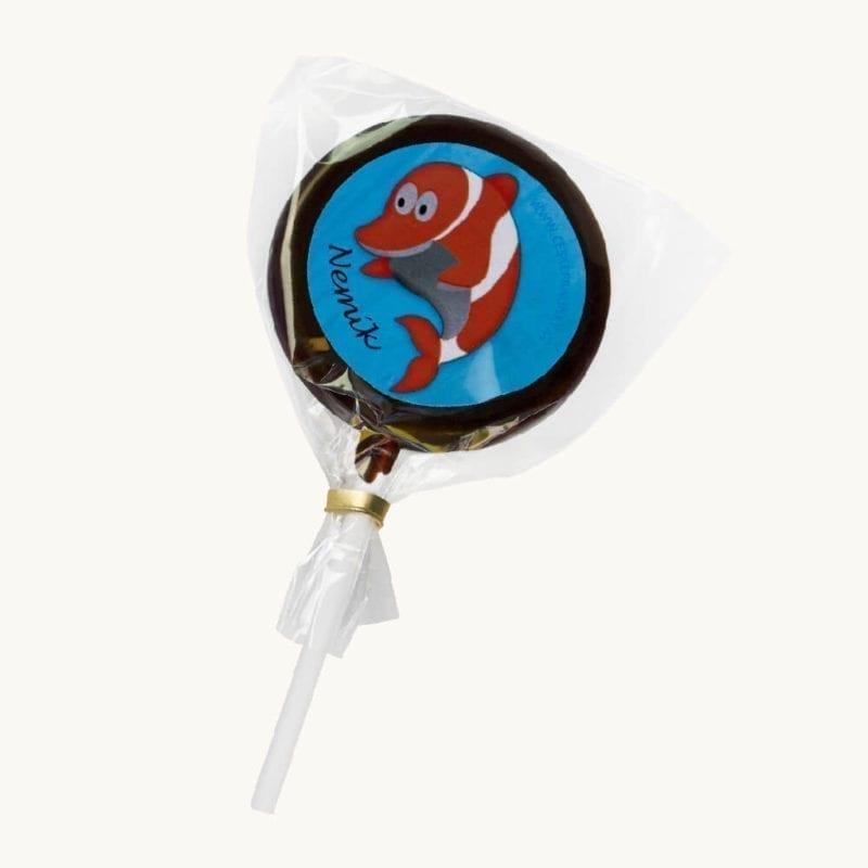 Čokoládové lízátko Nemo