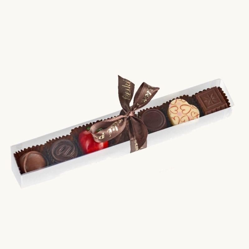 Balení 7 ks čokoládových pralinek
