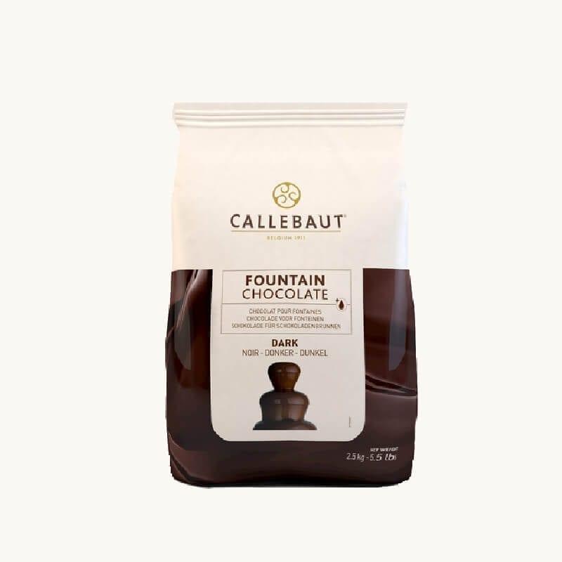 Balení belgické čokolády k fontáně